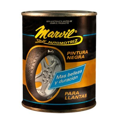PINTURA NEGRA PARA LLANTAS MARVIL 500 ml110233