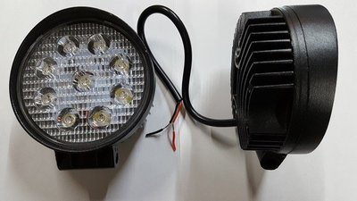 FARO REDONDO DE 9 LEDS