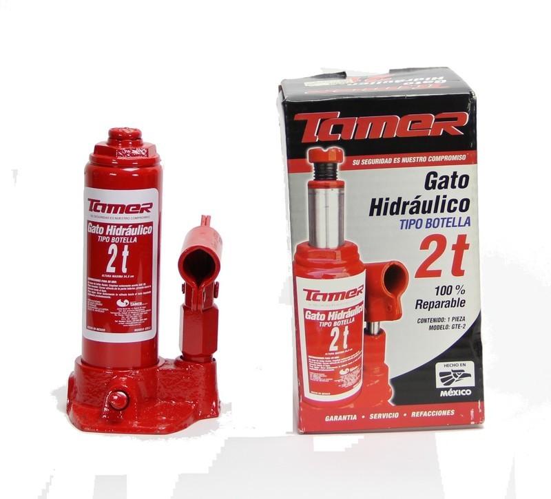 TAMER GATO HIDRAULICO TIPO BOTELLA 2 TONELADAS GTE-2