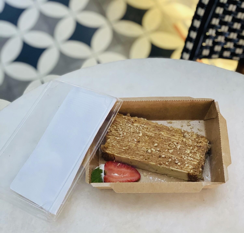 Torta Manjar Nuez