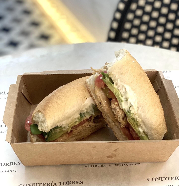 Sandwich de Pollo Italiano