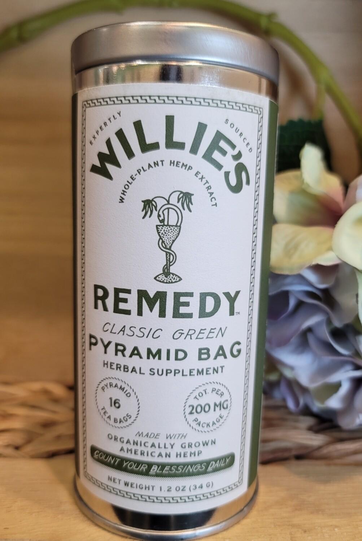 WILLIE'S FULL SPECTRUM HEMP GREEN TEA BAGS