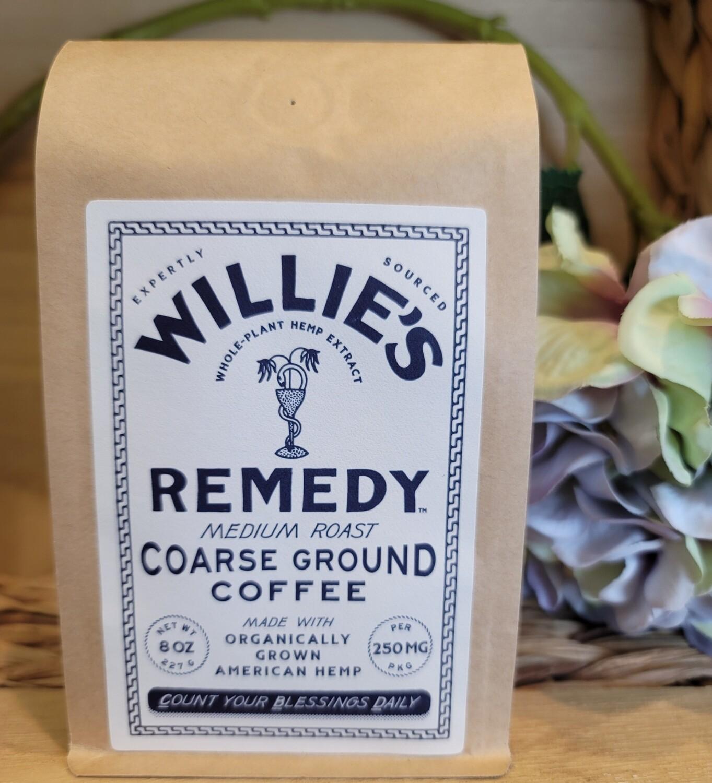 WILLIE'S FULL SPECTRUM HEMP MEDIUM ROAST GROUND COFFEE