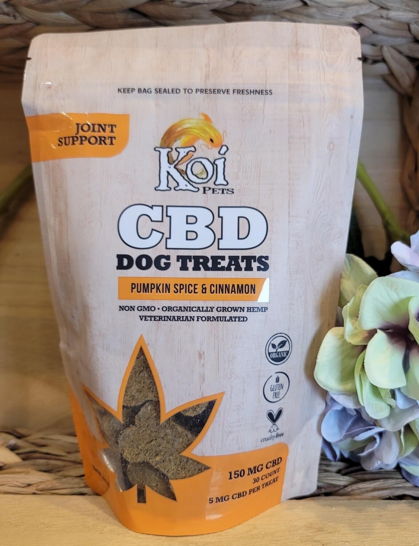 KOI CBD DOG TREATS PUMPKIN CINNAMON 150 Mg