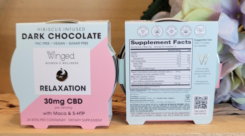 WINGED RELAXATION DARK CHOCOLATE