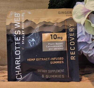 CHAROLETTE'S WEB RECOVERY GUMMIES 10 MG