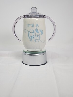 It's a Boy - Sippy Cup FLAWED