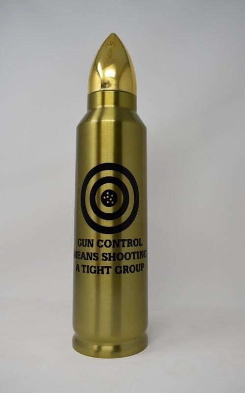 32 Oz Bullet Gun Control Thermos