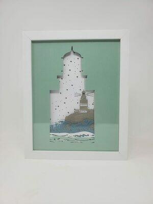8x10 Lighthouse Shadow