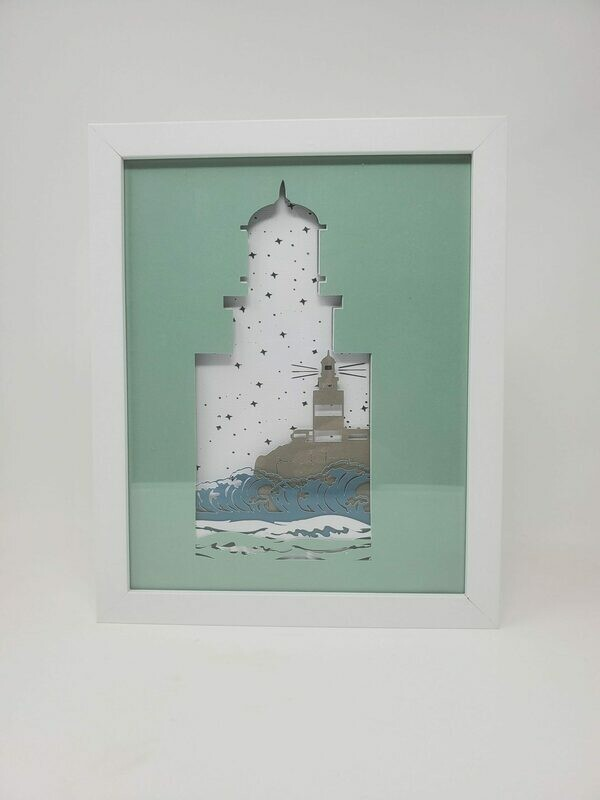 8x10 Lighthouse Shadow