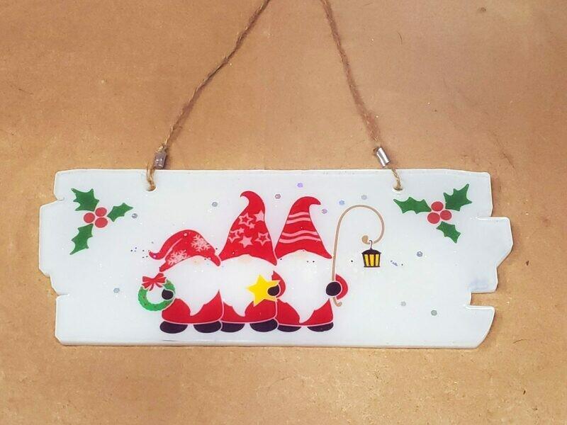 Christmas Gnome Sign