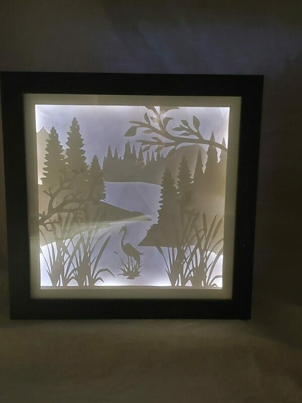 8x8 Heron Shadowbox