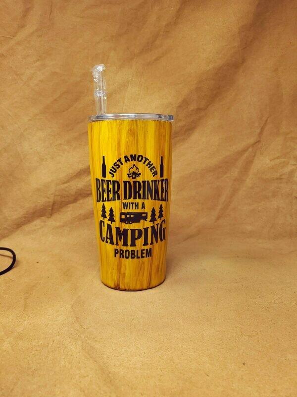 Beer Drinker Camping 20 Oz