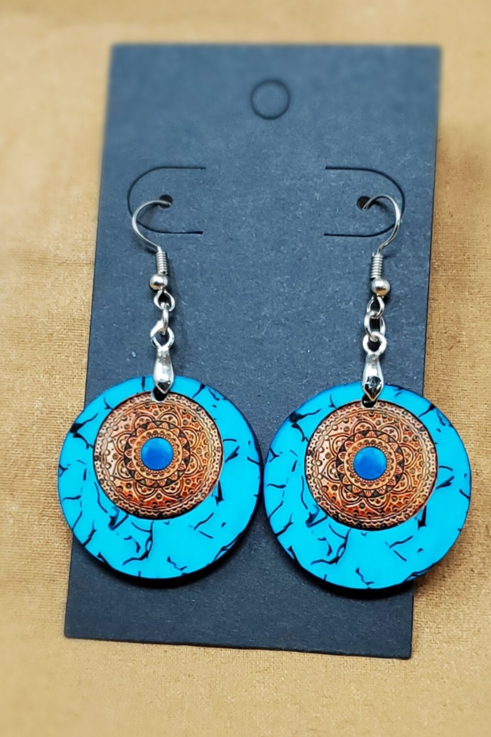 Turquoise Small Round