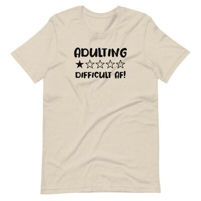 Short-Sleeve Unisex T-Shirt - Adulting