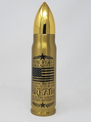 17 Oz Bullet Thermos - Breathe