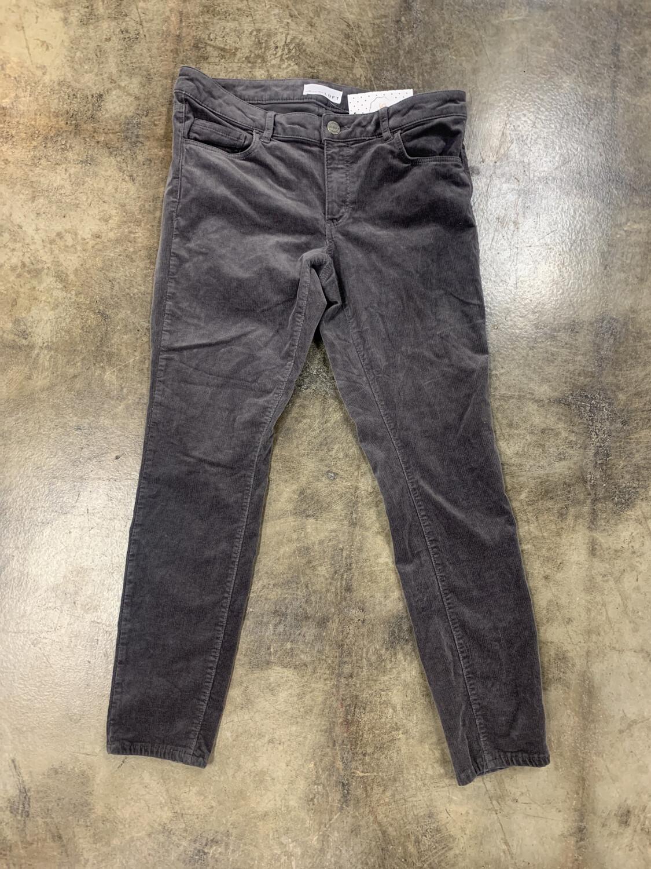 LOFT Grey Cords - Size 27