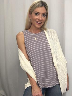 Stella & Dot Cream Knit Cardigan - XS/S