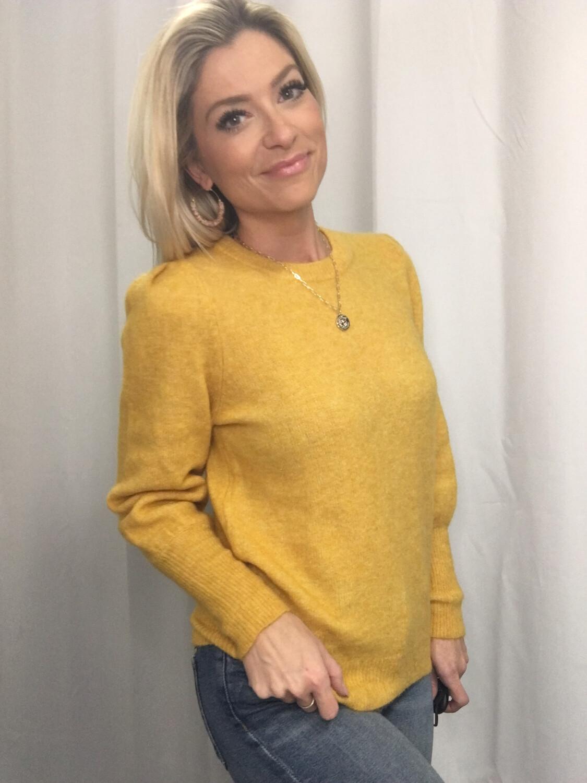 H&M Yellow Sweater - S