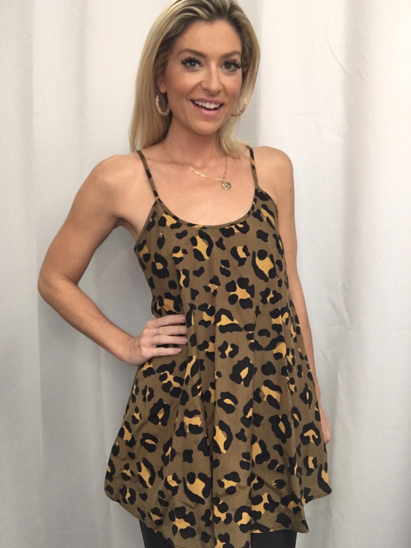 Show Me Your Mumu Leopard Tunic - S