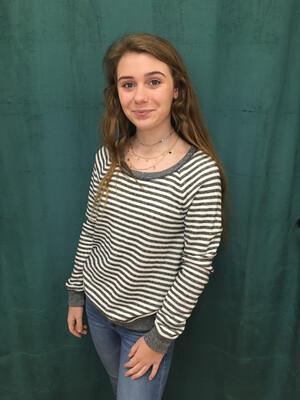 Victoria's Secret Gray Striped Sweater - XS/TP
