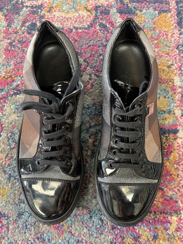 Vivienne Westwood Plaid Sneakers - Size 6.5