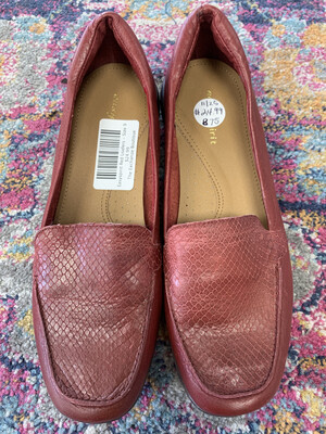 Easyspirit Red Loafers - Size 9