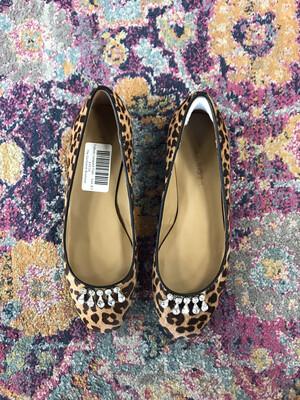 Talbots Leopard Flats - Size 8.5