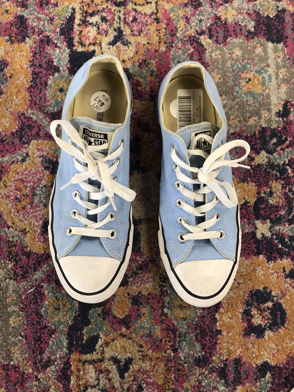 Converse Baby Blue Classics - Size 10