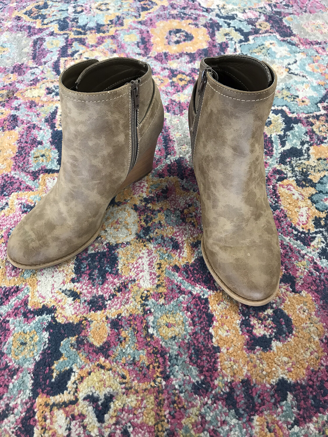 Brown Booties - Size 8.5