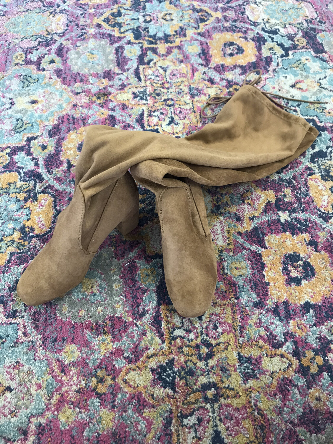Chinese Laundry Brown Knee High Boots - Size 8.5