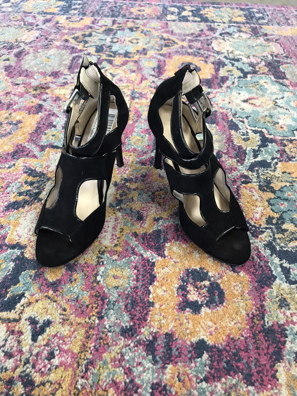 Nine West Black Heels - Size 9