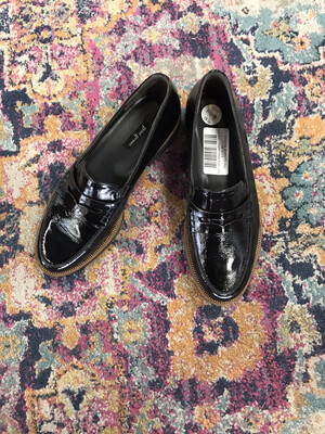 Paul Green Black Loafers - Size 8.5