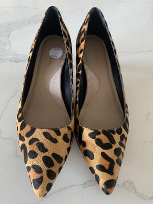 Banana Republic Leopard Kitten Heels - Size 9.5