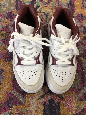 Lacoste White Tennis Shoes - Size 5.5