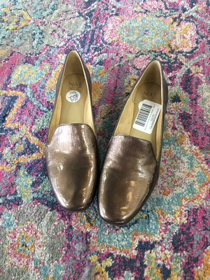 Naturalizer Brown Slip On Shoes - Size 7