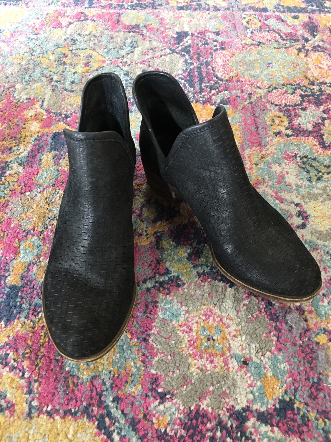 Lucky Brand Black Booties - Size 5.5