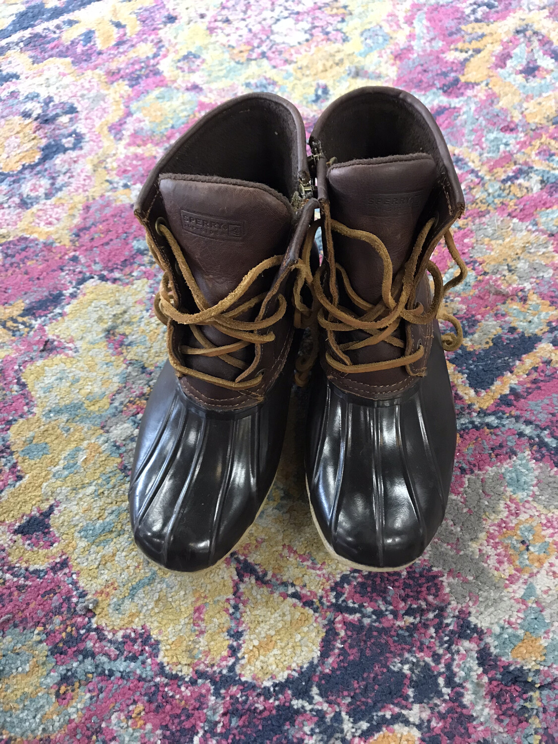 Sperry Duck Boots - Size 6.5