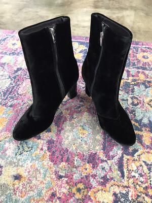 R.L.L Black booties - Size 9.5