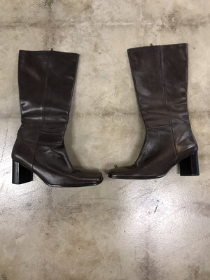 Nine West - Brown Tall Boots - Size 11