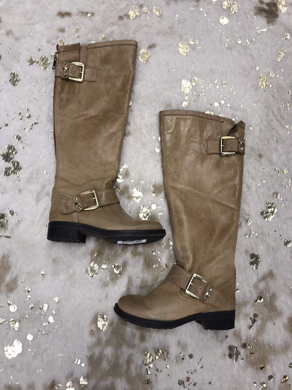 Steve Madden Tan Tall Boots - Size 5.5