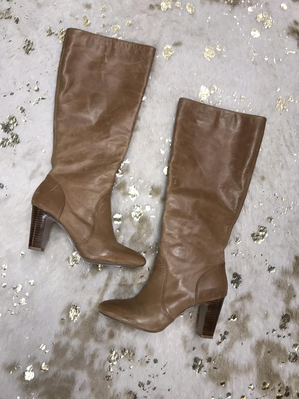 Arturo Chang Brown Heel Boots - Size 9