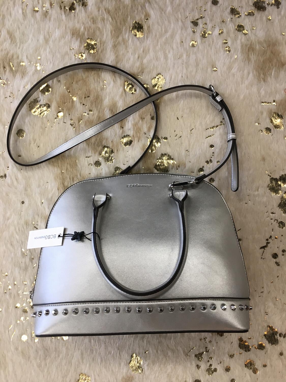 BCBGeneration Silver Handbag