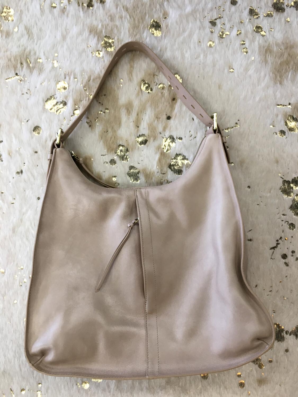 Hobo Beige Shoulder Bag