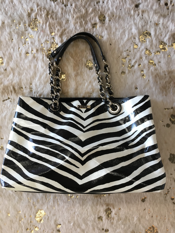 Kate Spade Zebra Print Handbag