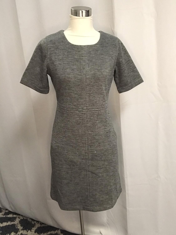 Jade Gray Shortsleeved Dress - S