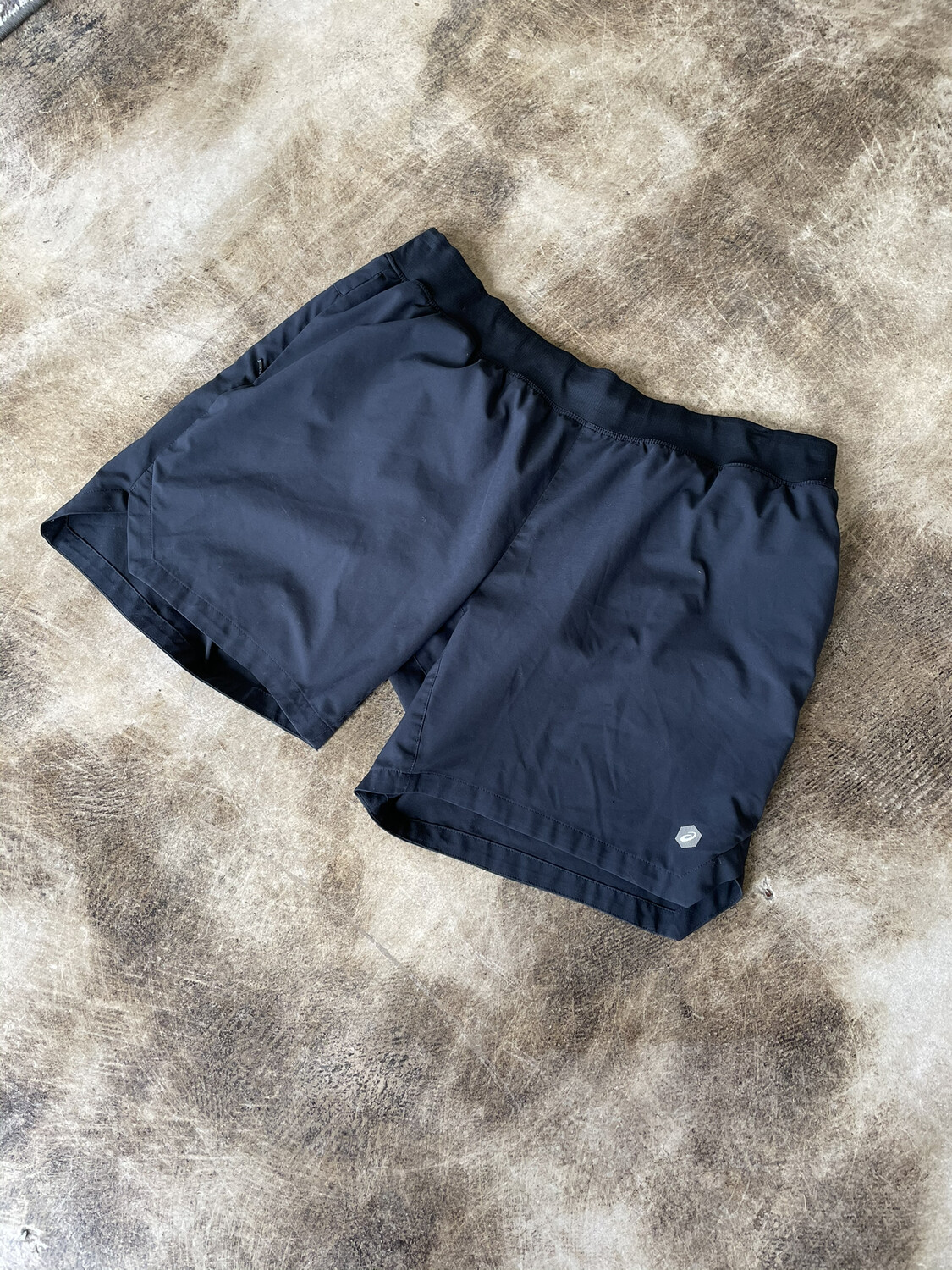 Aisics Black Shorts - XL