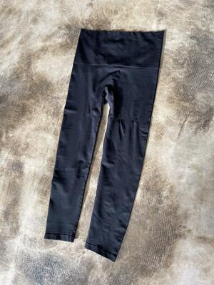 Slim + Tone Black Leggings - XL