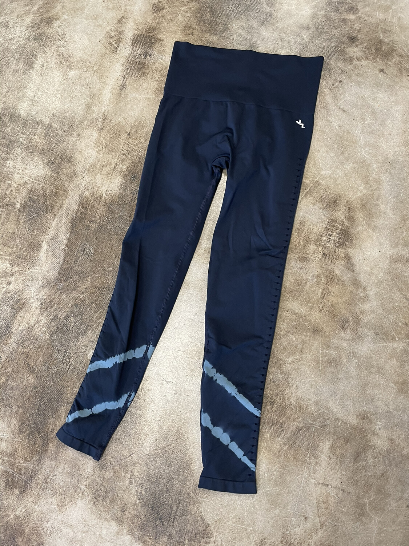 Joy Lab Blue Tie Dye Seamless Leggings - S