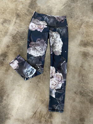 Noli Yoga Floral Cropped Leggings - S